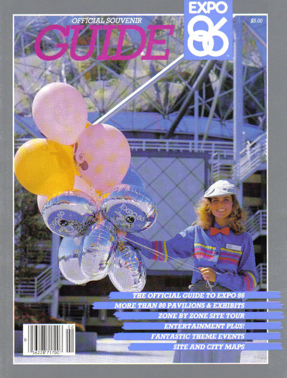 Expo 86 Guidebook