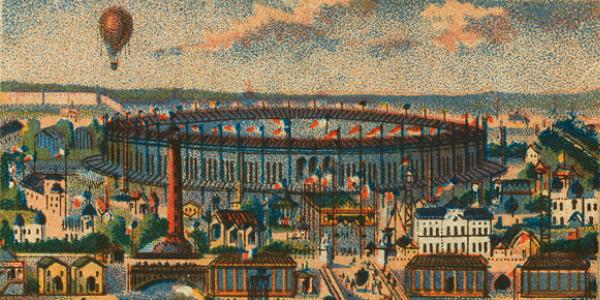 View of Paris World's Fair 1867