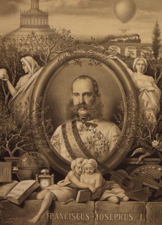 Emperor Franz Joseph I, Vienna World's Fair print