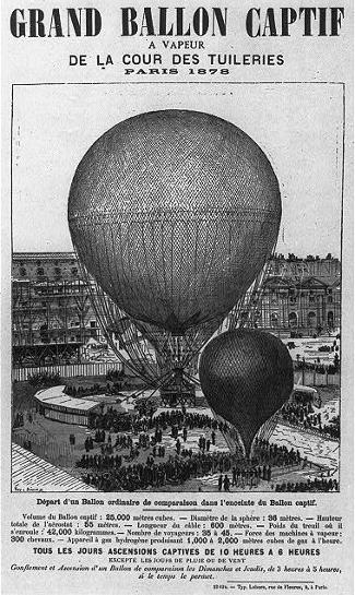 Paris 1878 and Gifford Balloon Launch