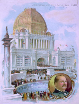 Opening Day Chicago 1893 World's Fair
