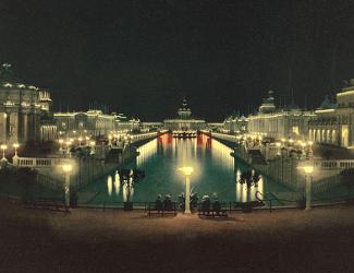 Omaha 1898 Expo at Night
