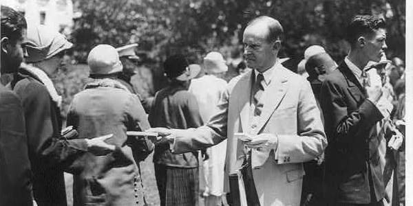 President Coolidge at Sesqui-Centennial
