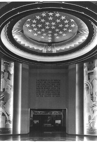 State Department Exhibit, Texas Centennial