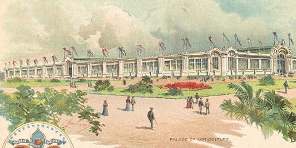 St. Louis World's Fair 1904 Agriculture Pavilion