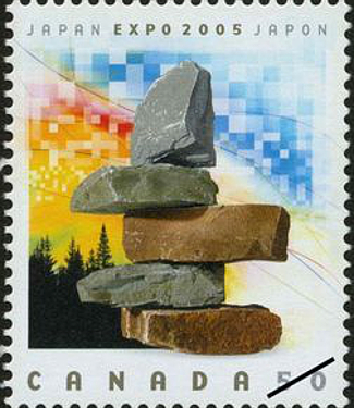 Canada Stamp, Expo 2005