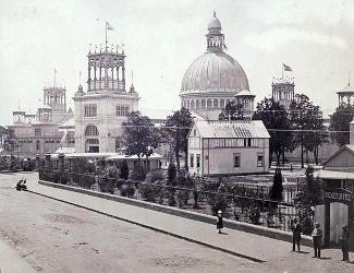 Garden Palace at the Sydney International Exhibition