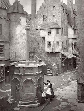View of Old Edinburgh