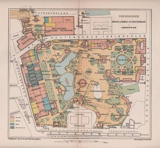 Copenhagen 1888 Site Map