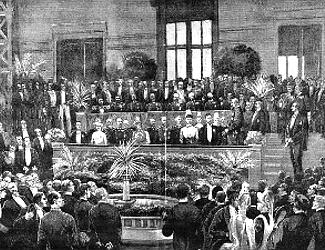 Awards Ceremoney at Copenhagen 1888