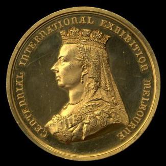 Melbourne Centennial Coin
