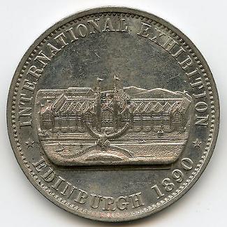 Edinburgh 1890 Token