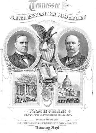 Nashville World's Fair Poster 1897