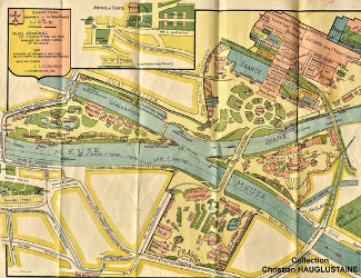 Liege Expo Map 1905