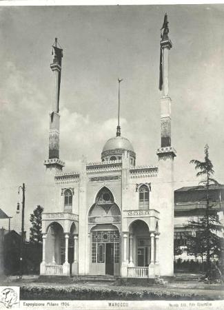Expo 1906 Morocco Pavilion