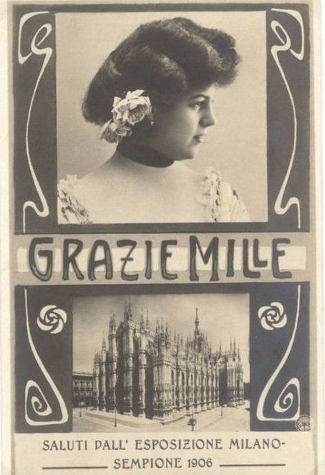 Entertainment, Expo 1906 Milan