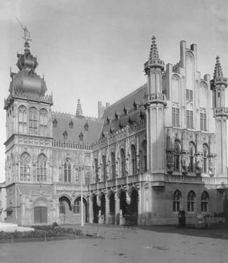 Brussels Pavilion at World's Fair of 1913