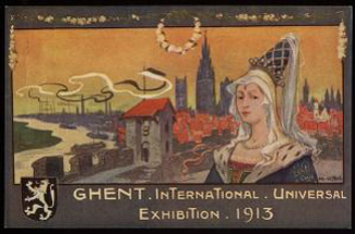 Ghent Exhibition Poster 1913