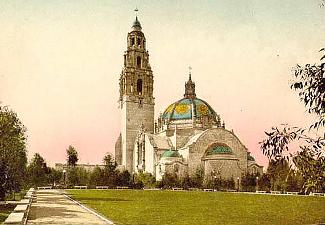 California Building, San Diego 1915-6
