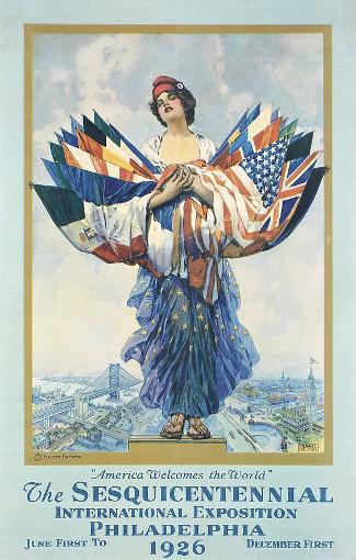Philadelphia Sesqui-Centennial International Exposition Poster 1926