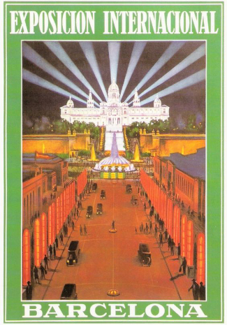 Poster of Barcelona 1929 Exposition
