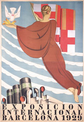 Barcelona 1929 Exposition Poster