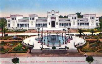 Postcard Seville 1929 Expo
