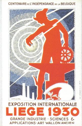 Liege World's Fair Poster 1930
