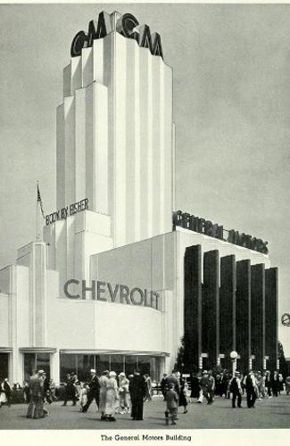 General Motors Pavilion, Chicago Century of Progress Exposition 1933-4