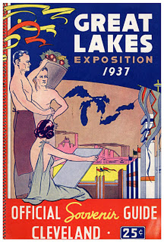 Official Guidebook, 1936, Cleveland Great Lakes Exposition