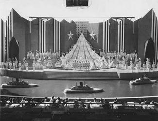 Aquacade, Cleveland 1936