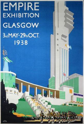 Glasgow Poster 1938, British Empire Exhibition