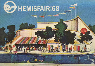 San Antonio Hemisfair 1968