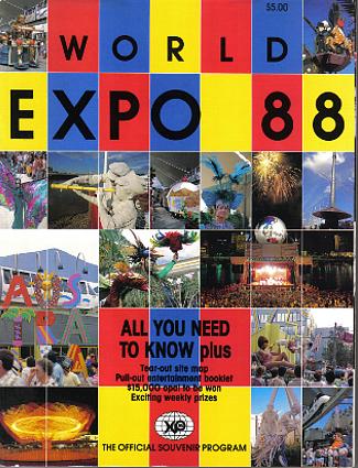 Brisbane Expo '88 Official Souvenir Guide