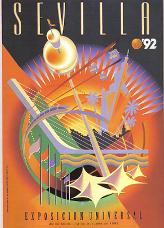 Expo 1992 Poster Seville