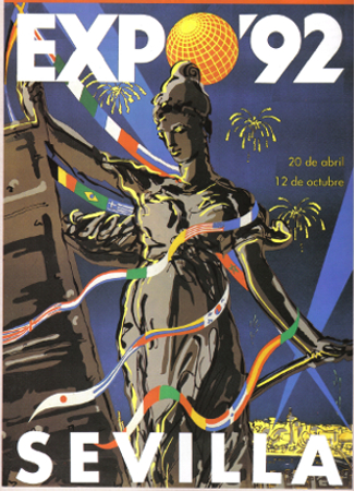 Expo 1992 Seville Poster