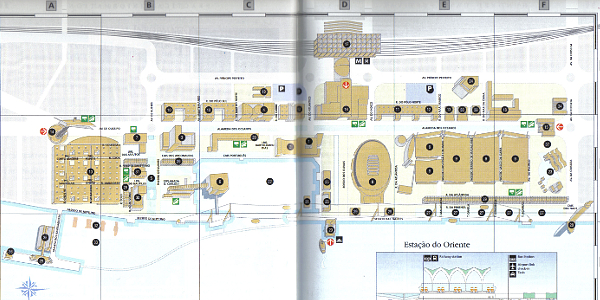 Expo '98 Map