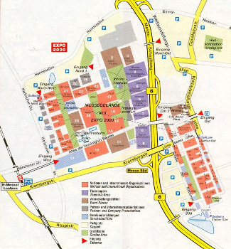 Expo 2000 Map