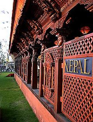 Nepal Pavilion at Expo 2000