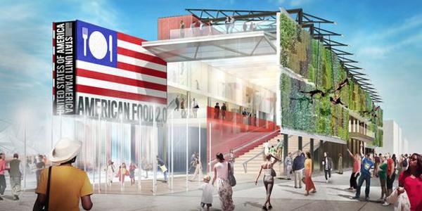 Expo 2015 USA Pavilion