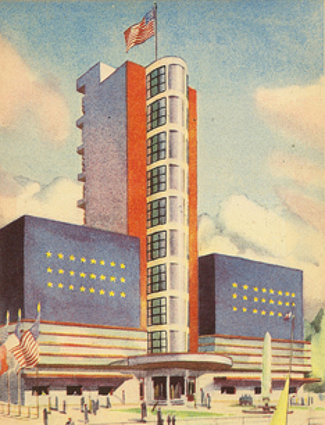 United States Pavilion, Paris 1937 World Expo