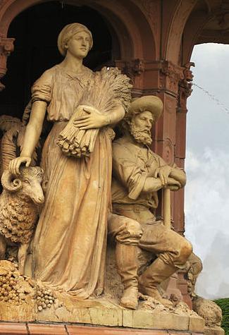 Glasgow 1888, Doulton Fountain