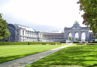 Cinquantenaire Park, site of the Brussels Exhibition 1897