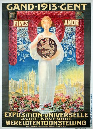 Ghent World's Fair 1913 Poster