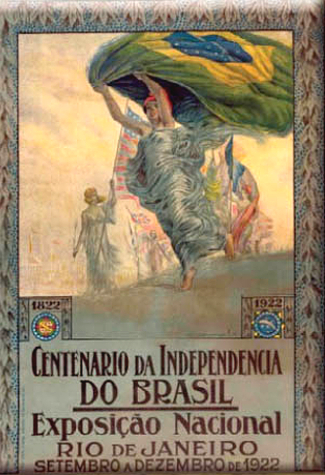 Independence Centenary International Exposition Poster