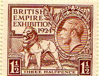 Wembley Commemorative Stamp 1924
