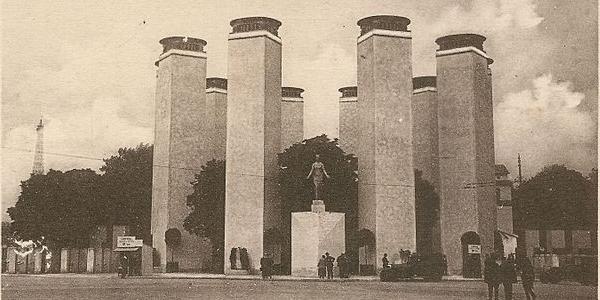Paris Exposition 1925 Political Cartoon