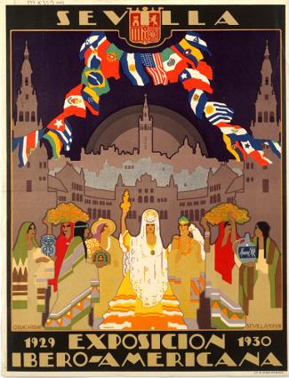Ibero American Exposition Poster