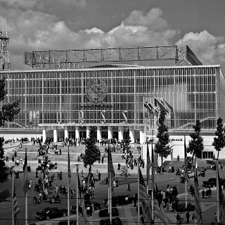 USSR Pavilion Brussels World's Fair 1958