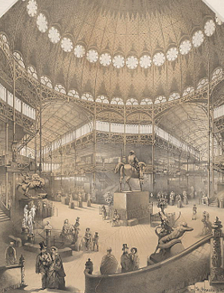 Interior New York World's Fair 1853
